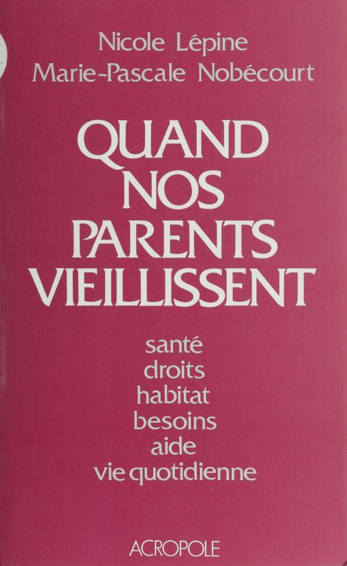Quand nos parents vieillissent