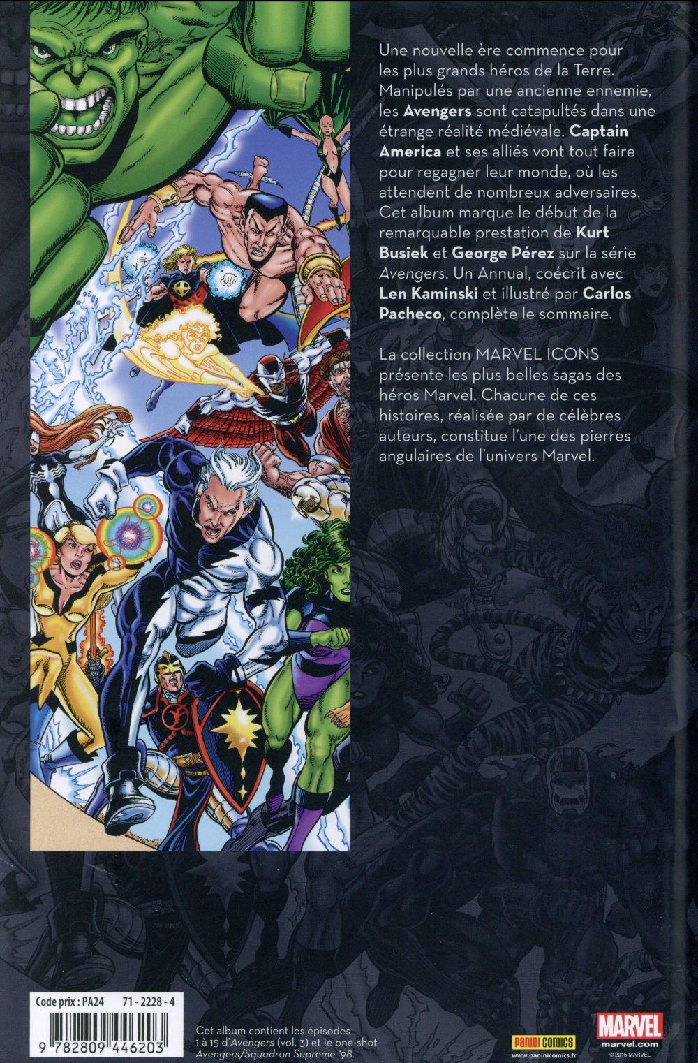 Avengers par Busiek et Perez T.1