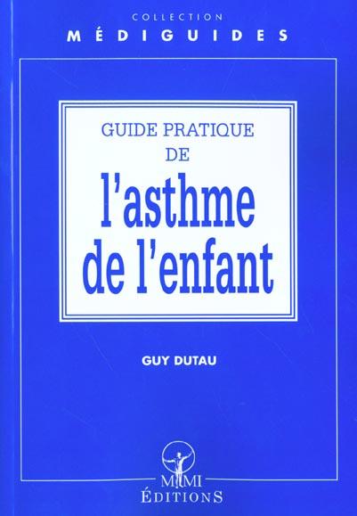 Guide Pratique De L'Asthme Chez L'Enfant
