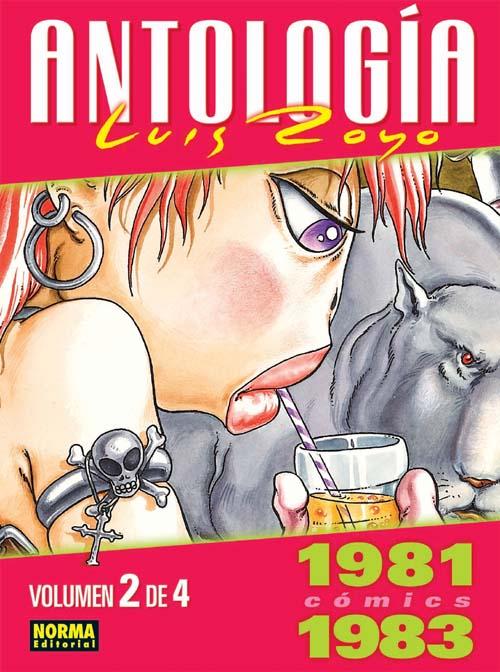 Antologia Luis Royo t.2 ; 1981-1983