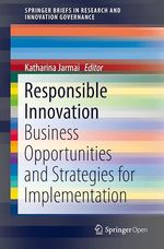 Responsible Innovation  - Katharina Jarmai