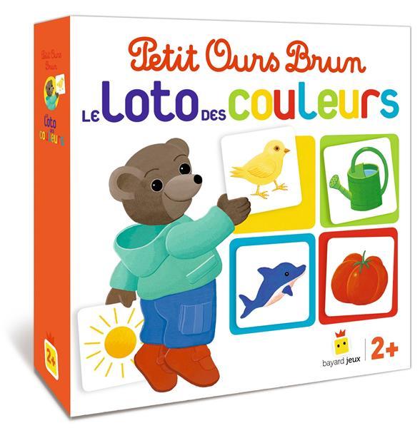 Jeu Petit Ours Brun ; le loto des couleurs