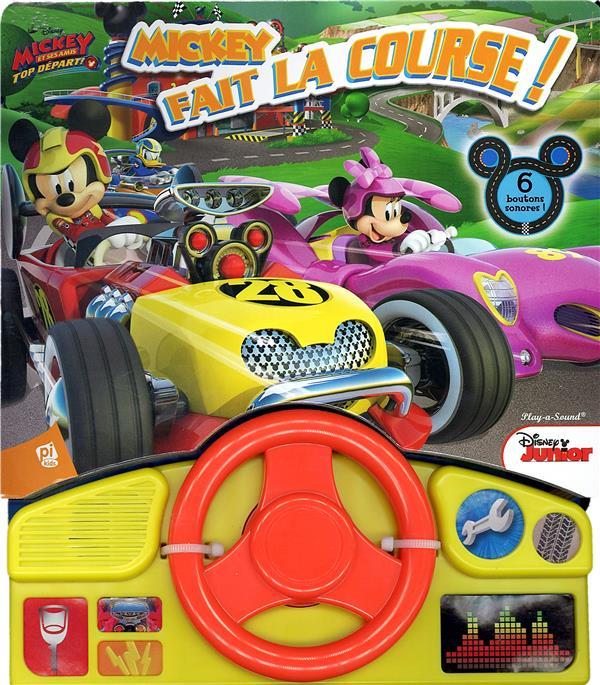 Mickey et ses amis - top départ ; Mickey fait la course !