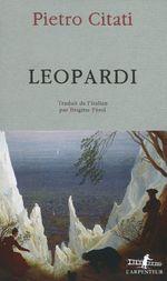 Vente Livre Numérique : Leopardi  - Pietro Citati