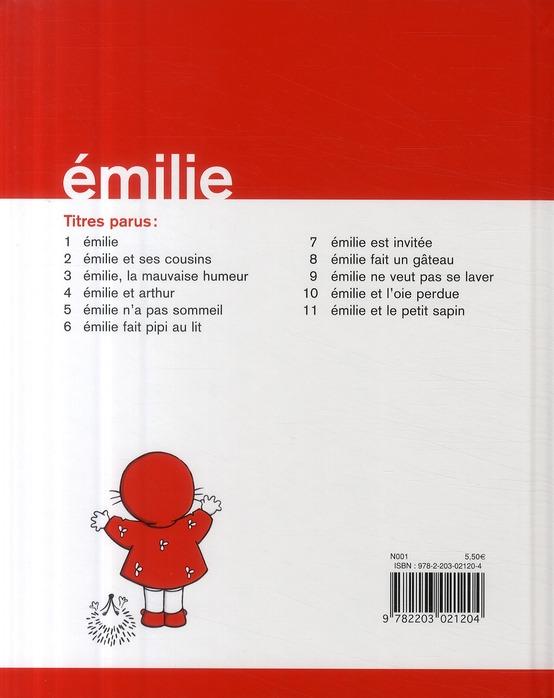 Emilie et le petit sapin