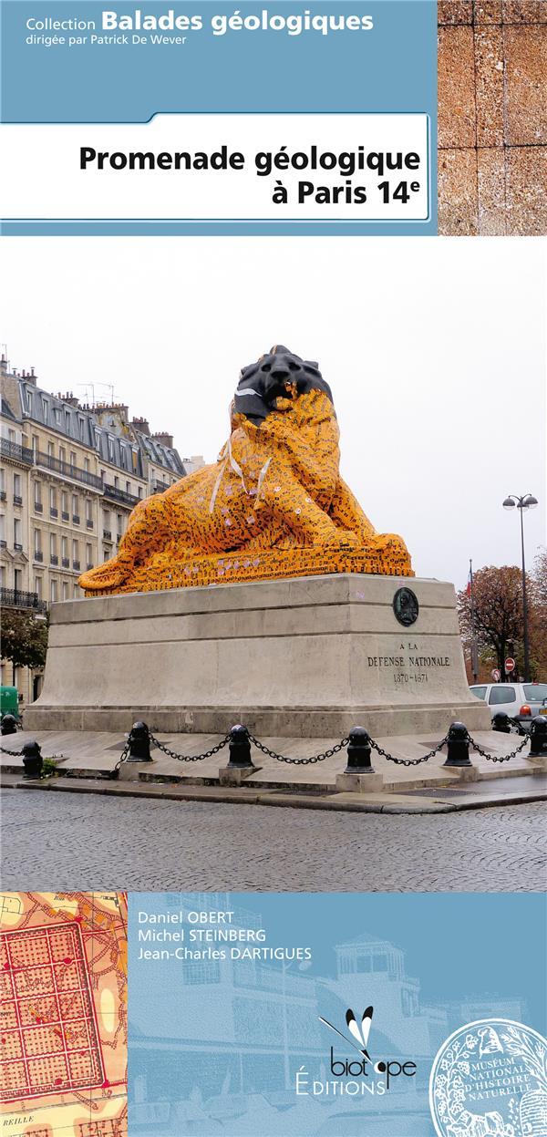 Promenade géologique à Paris 14e