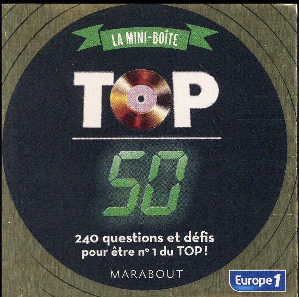 La boîte à quiz ; top 50