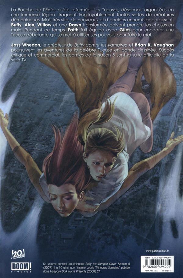 Buffy contre les vampires - saison 8 T.1 ; un long retour au bercail