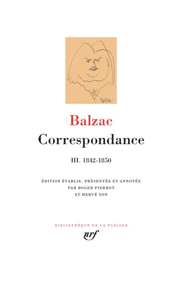 Correspondance t.3 ; 1842-1850