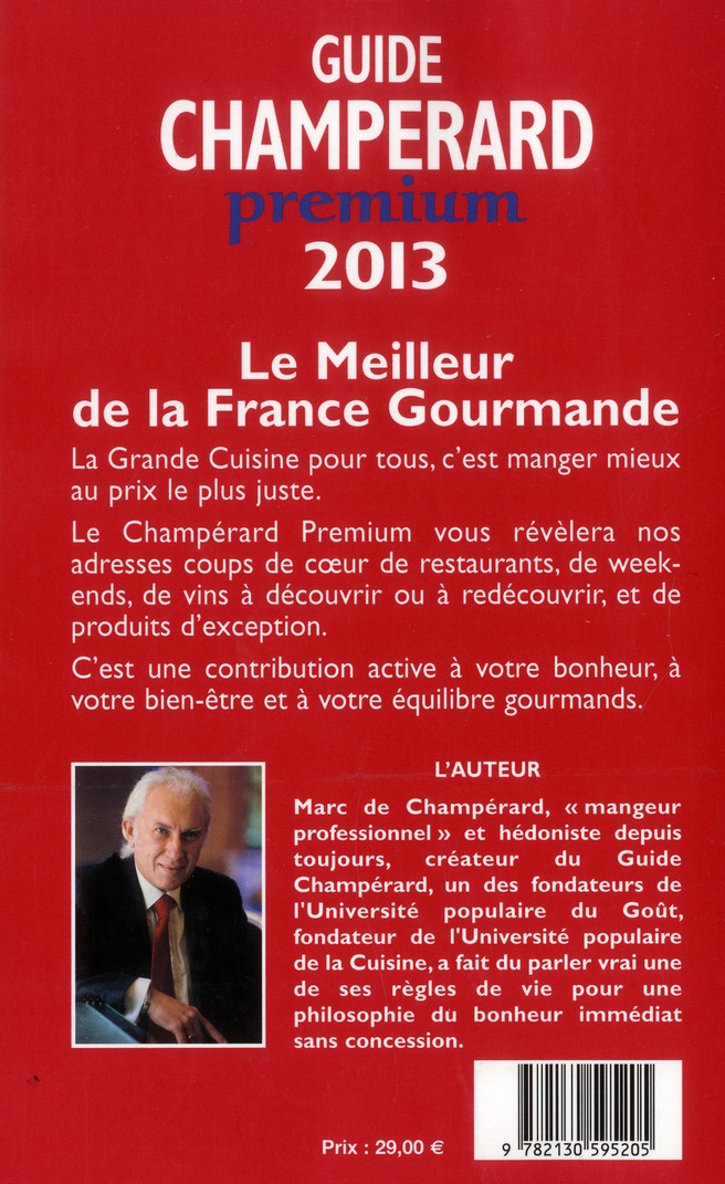 Guide champerard premium (édition 2013)