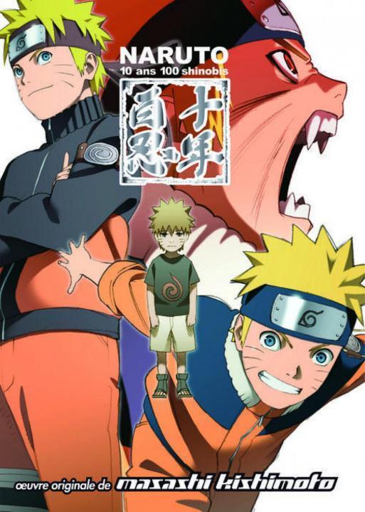 Naruto ; 10ans 100 Shinobis ; Anime Comics