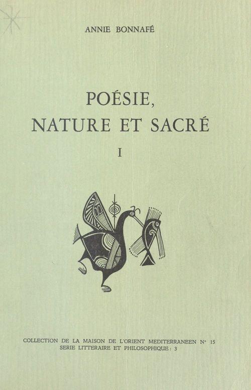 Poésie, nature et sacré (1) : Homère, Hésiode et le sentiment grec de la nature