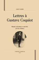 Lettres à gustave coquiot