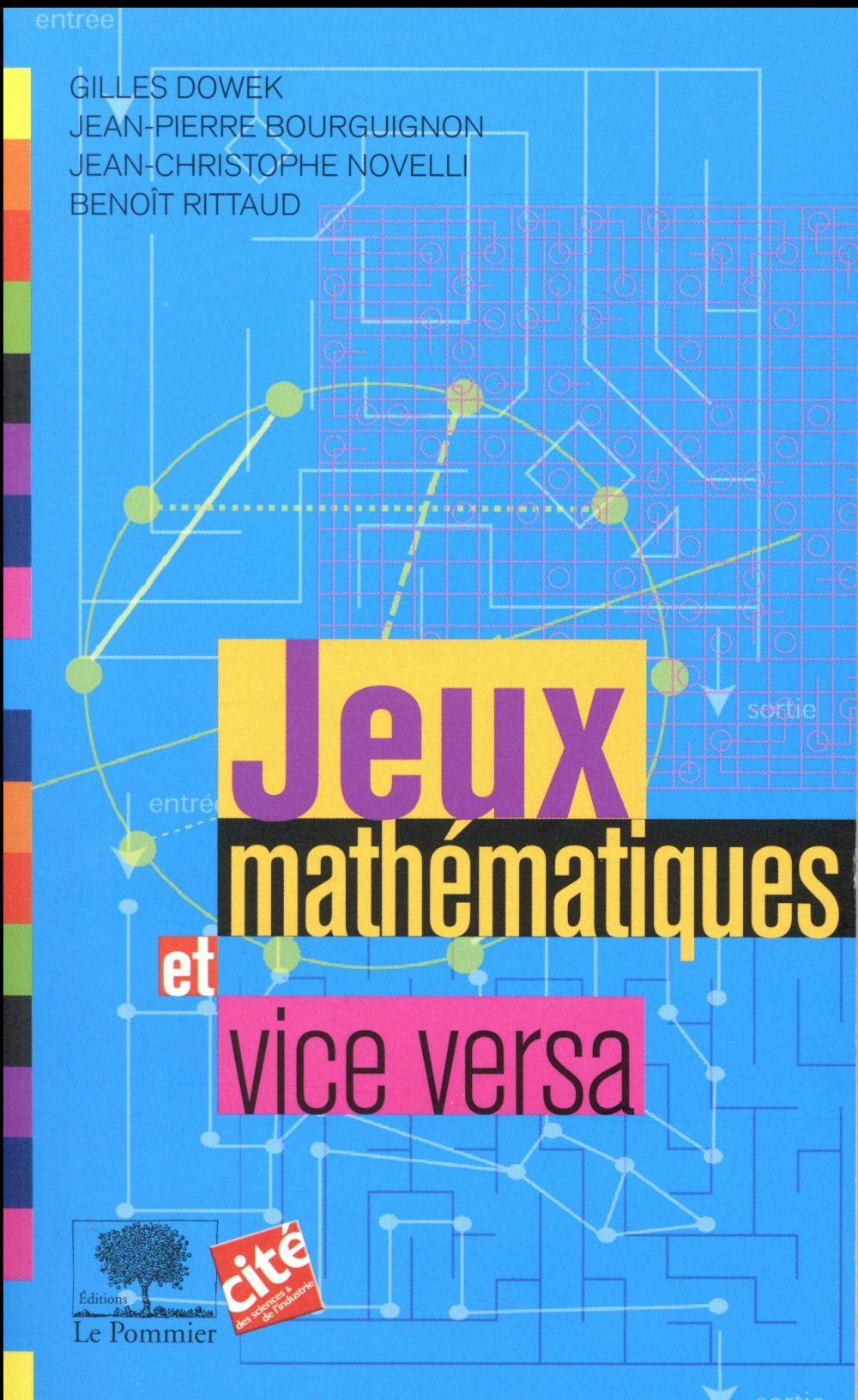 jeux mathématiques et vice versa (édition 2017)