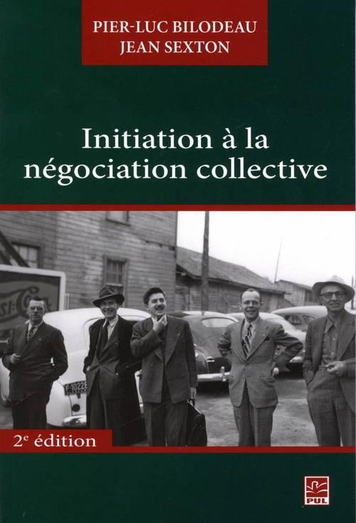Initiation a la negociation collective