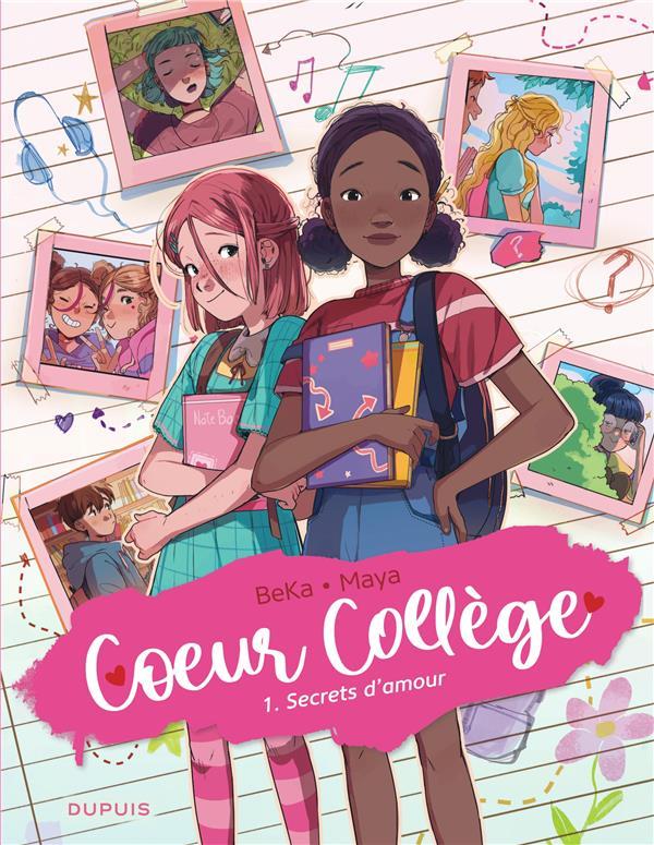coeur collège t.1 ; secrets d'amour