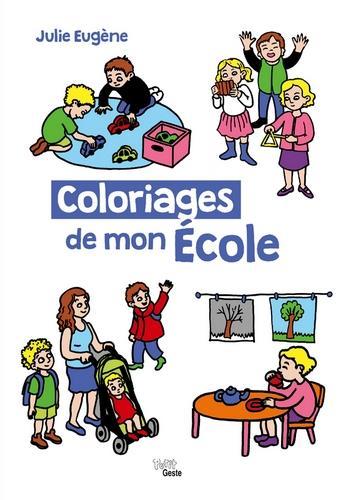 Coloriages de mon école