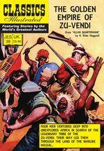 The Golden Empire of Zu-Vendi JES 38  - H Rider Haggard