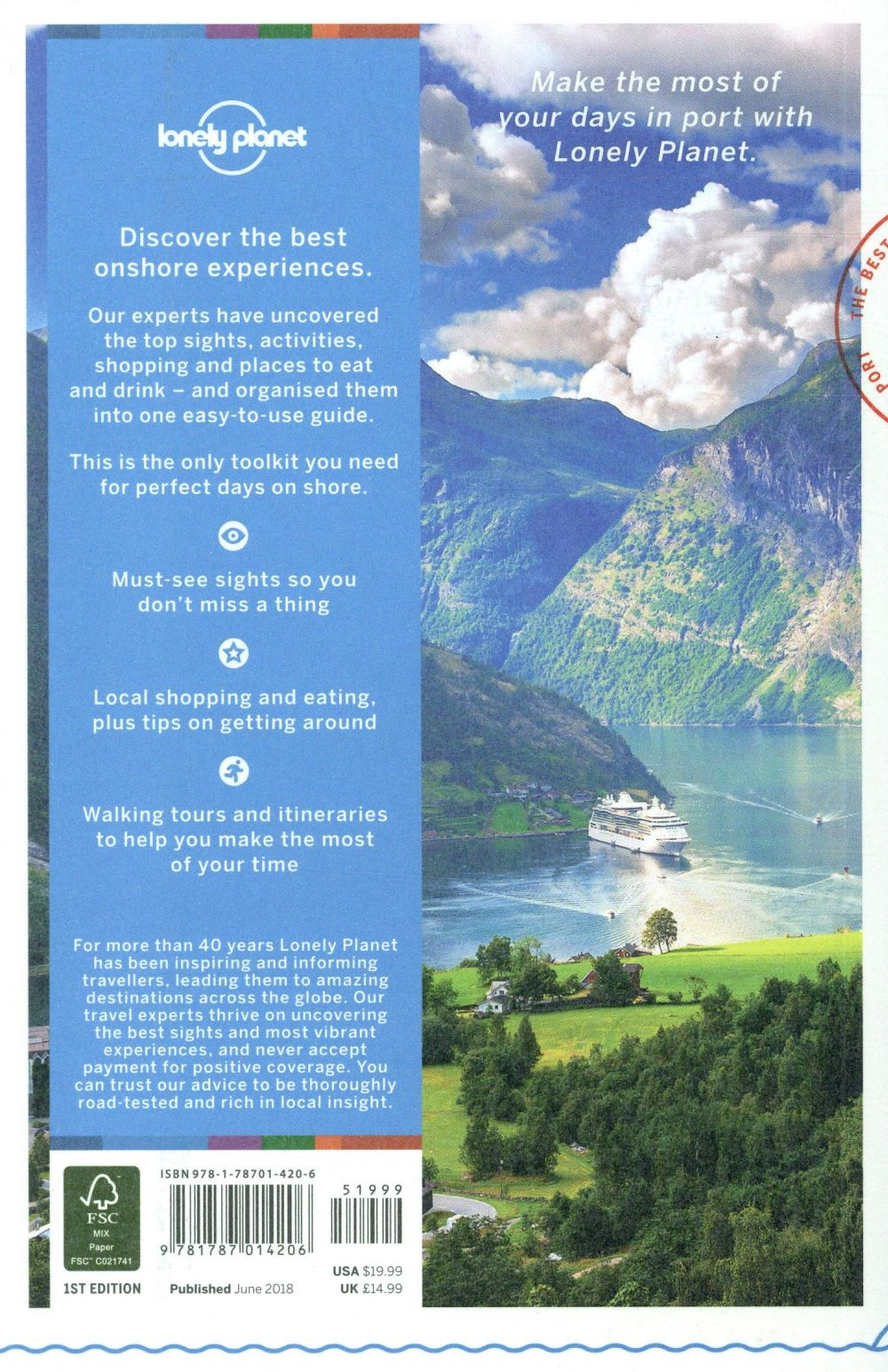 Cruise ports ; Scandinavia & northern Europe (édition 2018)