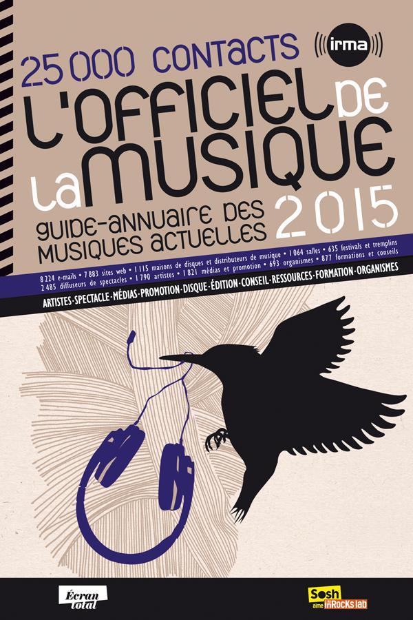 L'officiel de la musique (édition 2015)