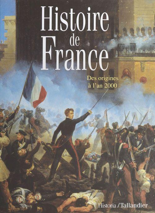 Histoire de france des origines a l'an 2000