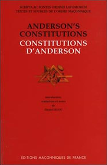 Constitutions d'Anderson