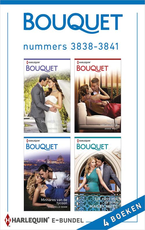 Bouquet e-bundel nummers 3838 - 3841 (4-in-1)
