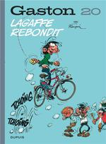Couverture de Gaston (Edition 2018) - Tome 20 - Lagaffe Rebondit