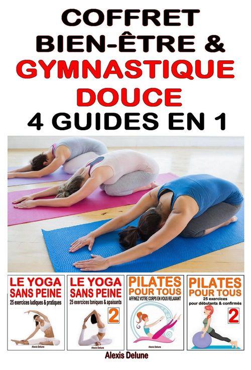 Coffret Bien-être & Gymnastique douce - 4 guides en 1