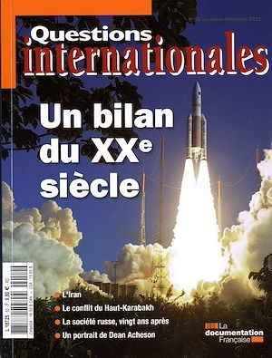 Revue questions internationales N.52 ; un bilan du XX siècle