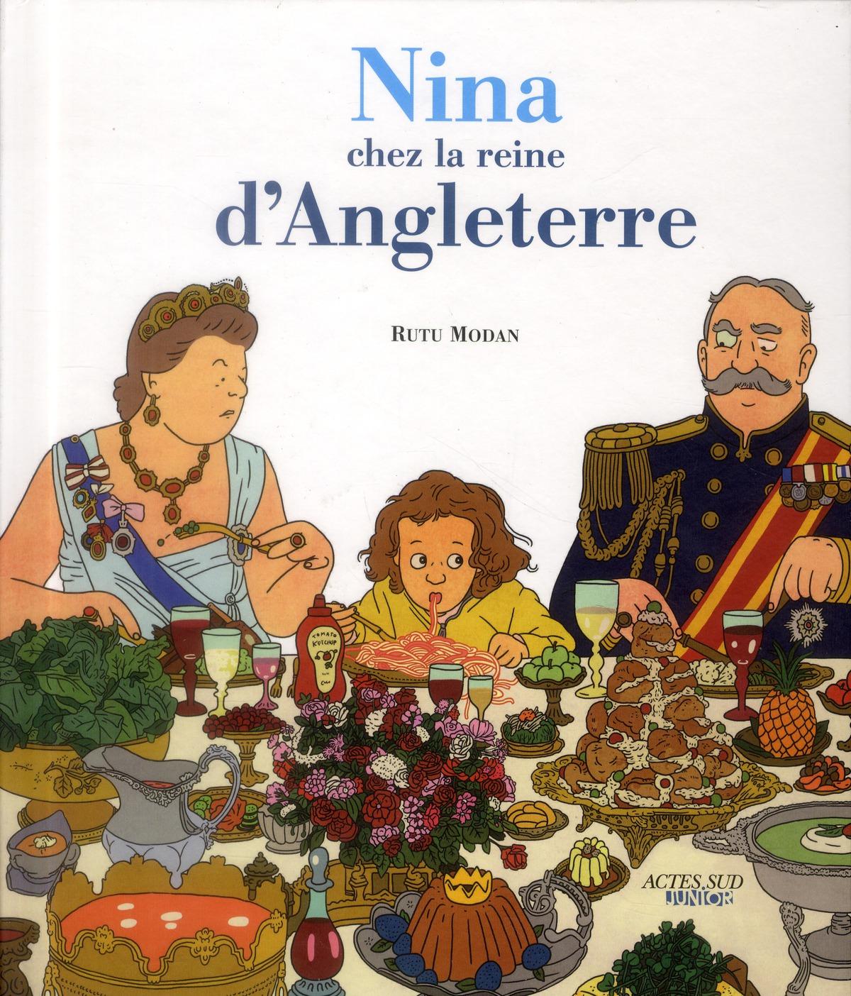 Nina Chez La Reine D'Angleterre