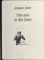 Vente EBooks : Des ans et des ânes  - Jacques Jouet
