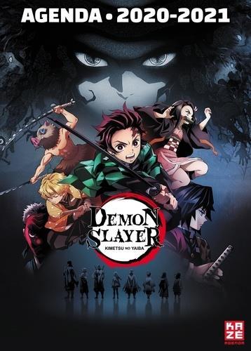 Demon slayer ; agenda scolaire (édition 2020/2021)
