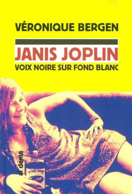 Janis Joplin, voix noire sur fond blanc