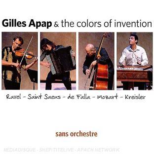 Gilles Apap sans orchestre