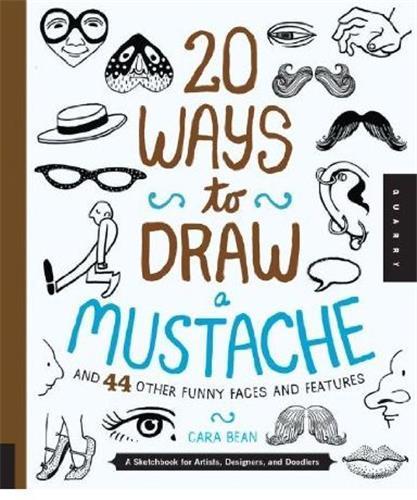 20 ways to draw a mustache /anglais