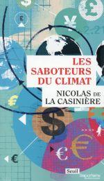 Couverture de Les saboteurs du climat