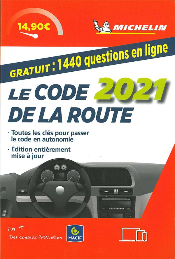 Code de la route Michelin (édition 2021)