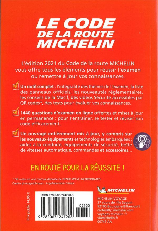 Code de la route Michelin (édition 2021)