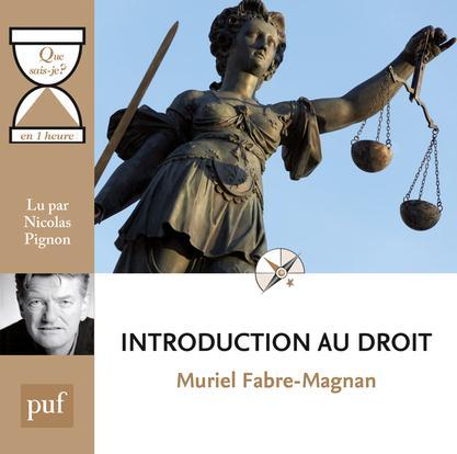 Introduction au droit en une heure
