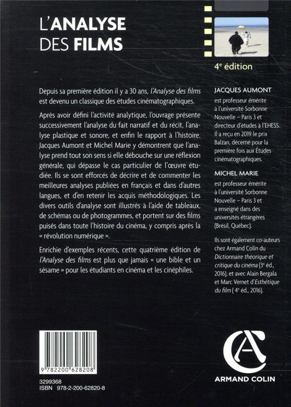 L'analyse des films (4e édition)