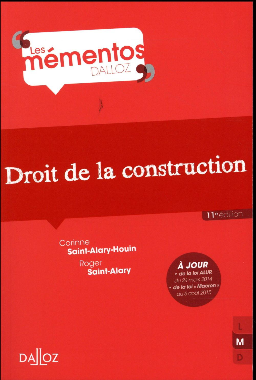 Droit de la construction (11e édition)