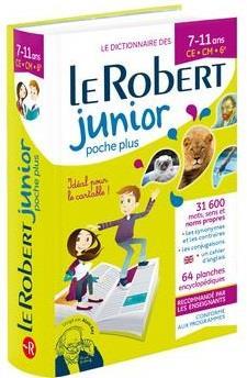 DICTIONNAIRE LE ROBERT JUNIOR POCHE PLUS (EDITION 2020)