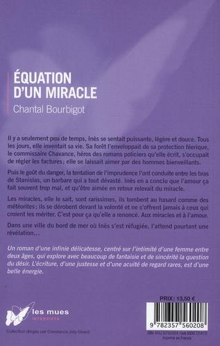 équation d'un miracle