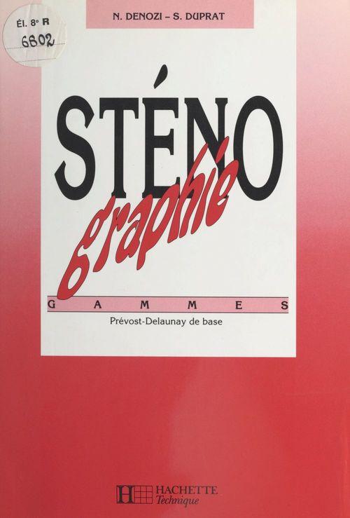 Sténographie