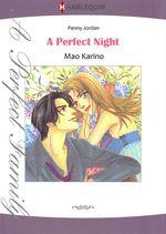 Vente EBooks : Harlequin Comics: A Perfect Night  - Penny Jordan - Mao Karino