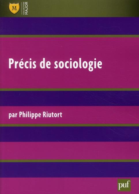 Precis De Sociologie (2e Ed)