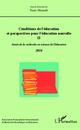 Conditions de l'éducation et perspectives pour l'éducation nouvelle II  - Franc Morandi