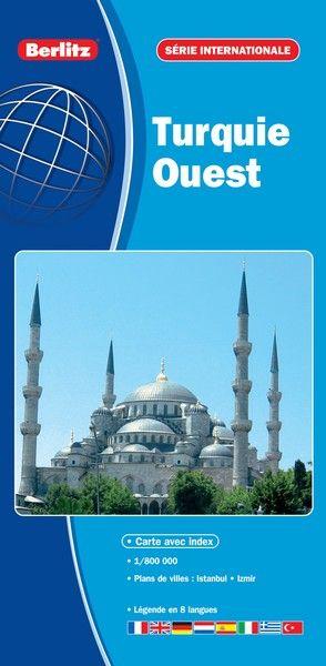 COLLECTIF - TURQUIE OUEST - CARTE ROUTIERE ET TOURISTIQUE