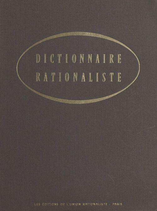 Dictionnaire rationaliste
